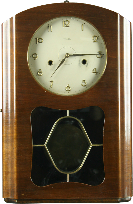 art deco kienzle grandfather clock