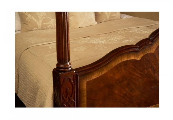 New Jonathan Charles King Bed Mahogany Mahogany Four Poster Buckingham C JC-1145