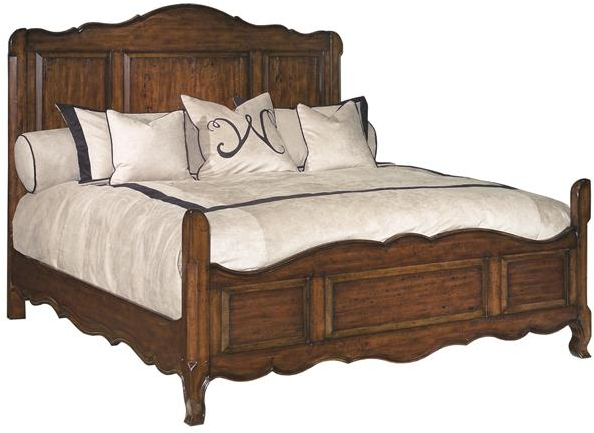 New Classic French Look California King Solid Wood Bed