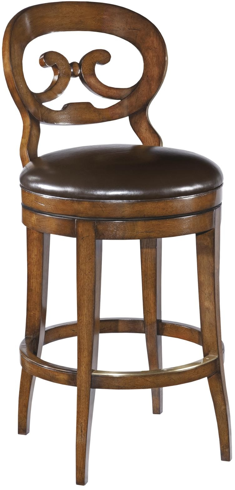NEW FRENCH COUNTRY SWIVEL COUNTER STOOL WAXED CHERRY  : WB 215 1L from www.ebay.com size 754 x 1569 jpeg 412kB