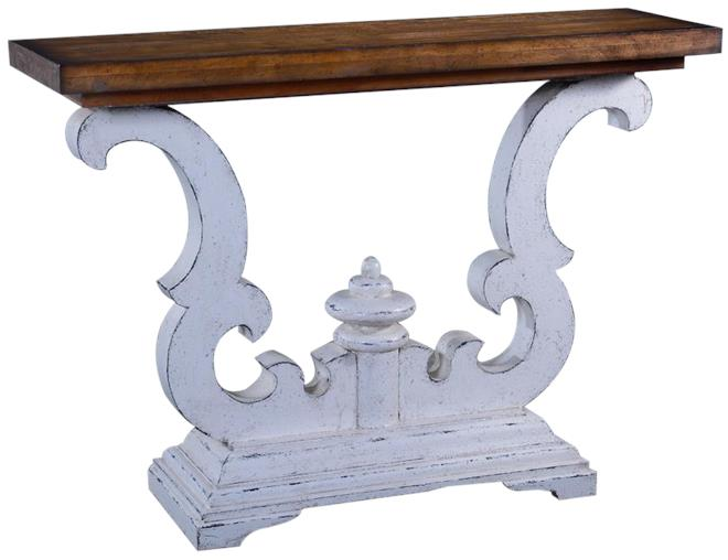 Antique Style Console Tables Modern Sofa - Solid Mahogany Wood Entry Wall Console Sofa Table