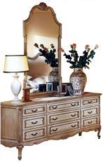 Dresser Mirror DAVID MICHAEL Formal Furniture Triple New DM 47