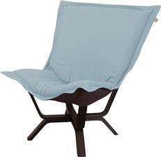 Puff Chair HOWARD ELLIOTT MILAN Breeze Rich Java Brown Basket Weave Text  HE 1966