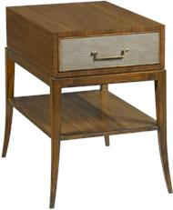 best woodbridge furniture co. Side Table WOODBRIDGE SAVOYE NOCE Tapering Legs Tapered Leg Lisse Faux Sh  WB 977 Woodbridge Furniture Company High End Home Furnishings